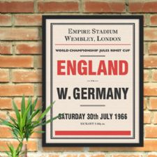 Sports Events Personalised Prints